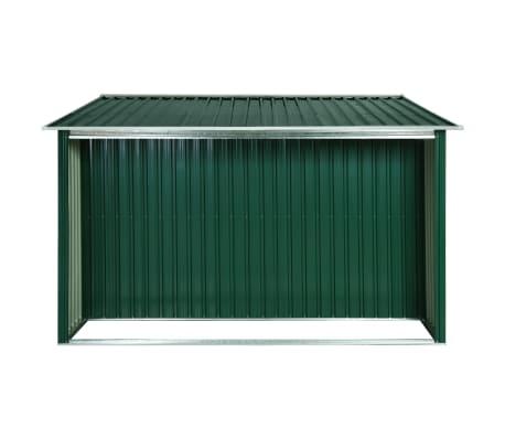 vidaXL Zahradní domek posuvné dveře zelený 329,5 x 312 x 178 cm ocel[5/10]