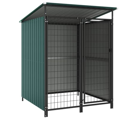 vidaXL Outdoor Dog Kennel 133x133x163 cm