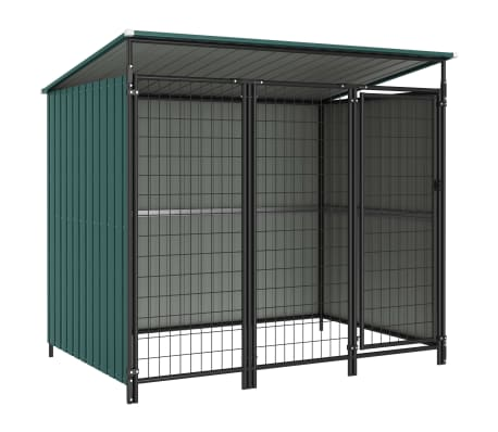 vidaXL Outdoor Dog Kennel 193x133x163 cm