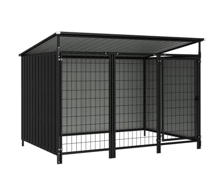 vidaXL Outdoor Dog Kennel 193x133x113 cm