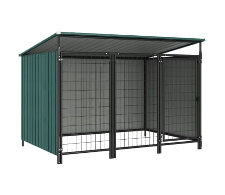 vidaXL Outdoor Dog Kennel 193x133x113 cm