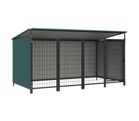 vidaXL Outdoor Dog Kennel 253x133x113 cm