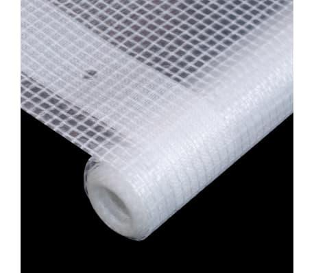 vidaXL Bâche Leno 260 g/m² 1,5 x 5 m Blanc[4/5]