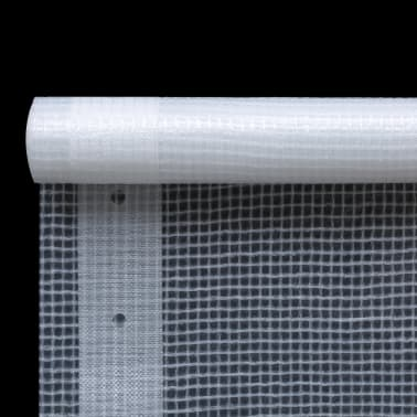 vidaXL Bâche Leno 260 g/m² 1,5 x 5 m Blanc[2/5]
