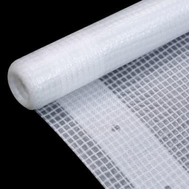 vidaXL Bâche Leno 260 g/m² 1,5 x 5 m Blanc[3/5]