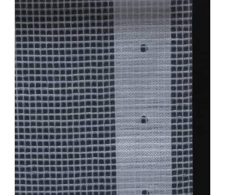 vidaXL Leno dekzeil 260 g/m² 1,5x20 m wit[5/5]