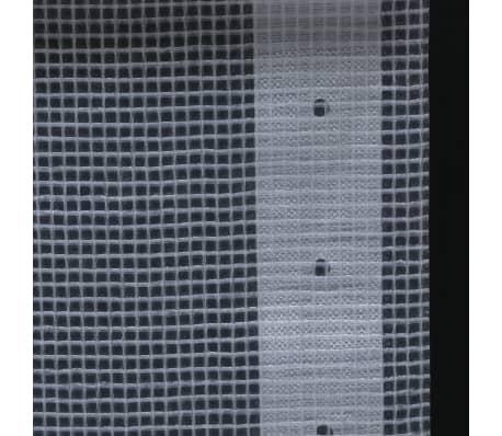 vidaXL Telone Leno 260 g / m² 2x5 m Bianco[5/5]