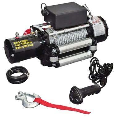 vidaXL Electric Winch 13000 lb 12 V[1/4]