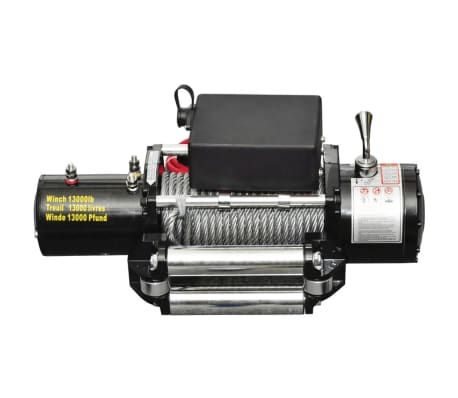vidaXL Electric Winch 13000 lb 12 V[2/4]