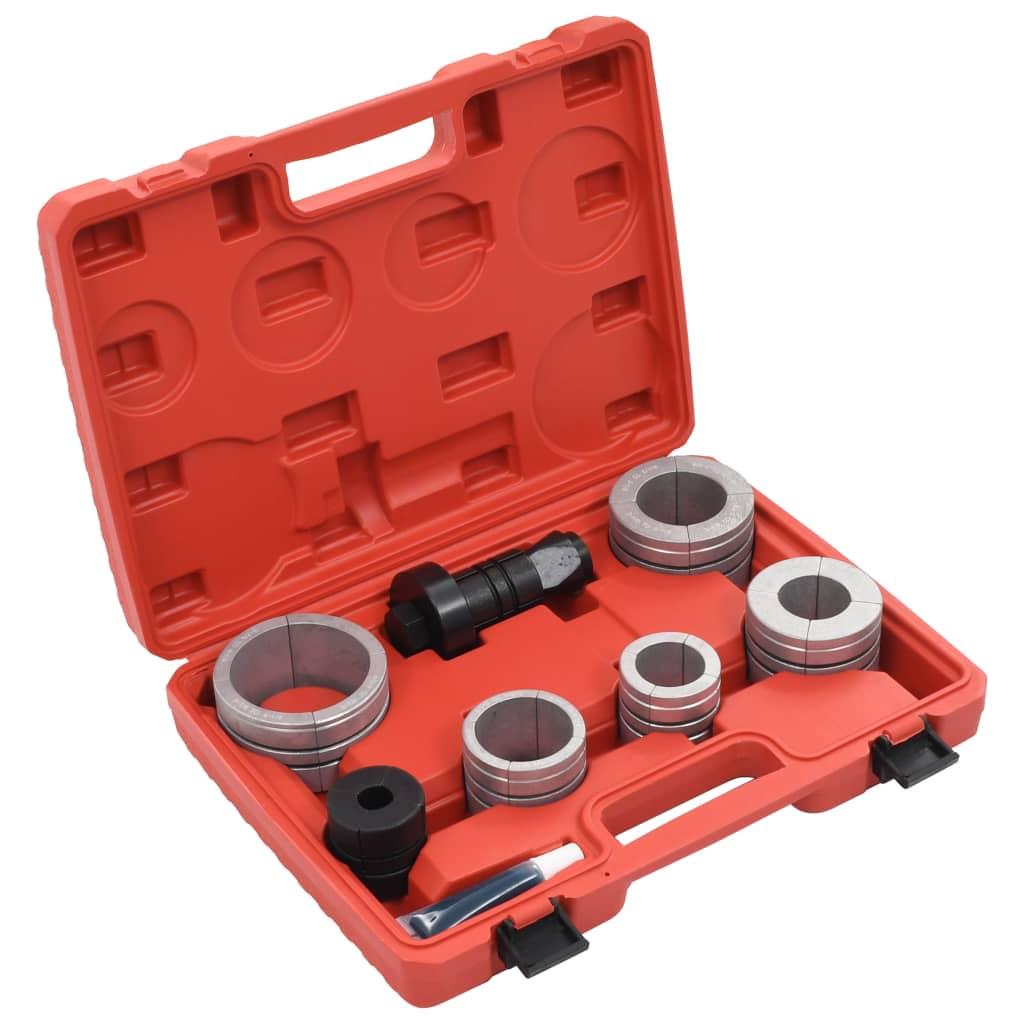 vidaXL Set expandor țevi, 8 piese, oțel nealiat și aluminiu vidaxl.ro
