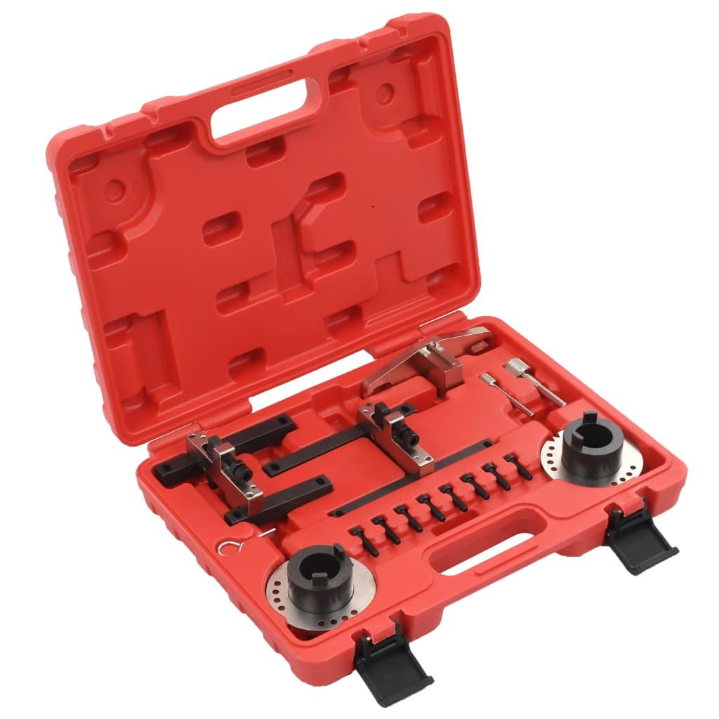 vidaXL Set instrumente sincronizare motor pentru Ford, 16 piese vidaxl.ro