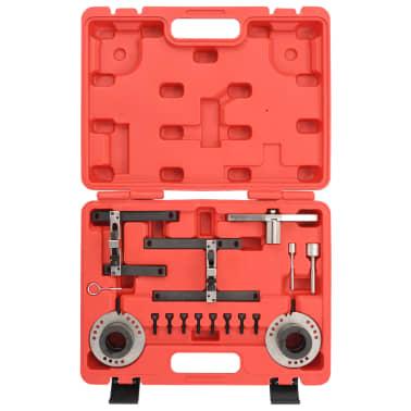 vidaXL Herramientas de sincronización del motor 16 piezas para Ford[3/6]