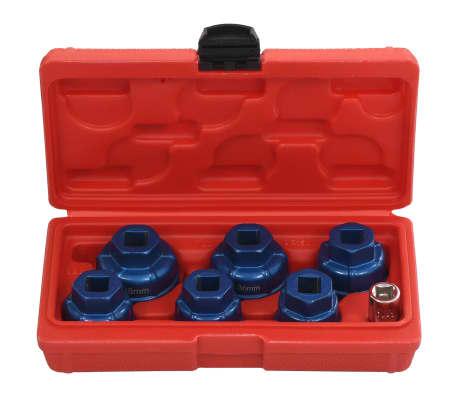 """vidaXL Tapones de filtro de aceite 7 piezas 3/8""""[2/6]"""