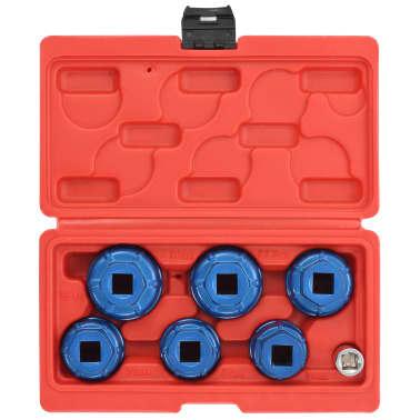 """vidaXL Tapones de filtro de aceite 7 piezas 3/8""""[3/6]"""