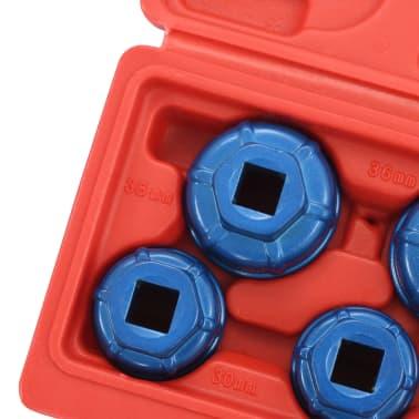 """vidaXL Tapones de filtro de aceite 7 piezas 3/8""""[6/6]"""