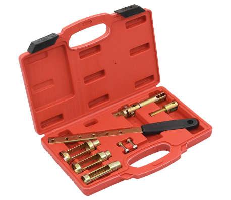 vidaXL Ventilfjäderspännare 8 delar verktygssats