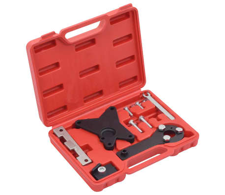 vidaXL Motorinställningsverktyg 9 delar