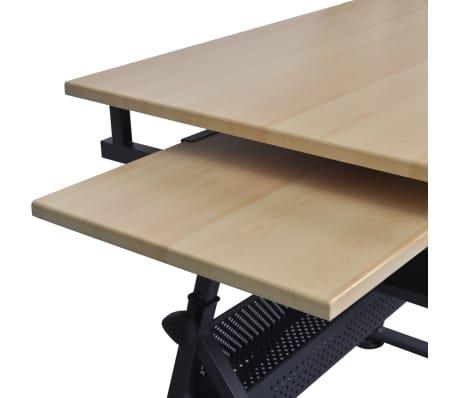 vidaXL Table à dessin à dessus inclinable avec chaise de jeux[12/14]