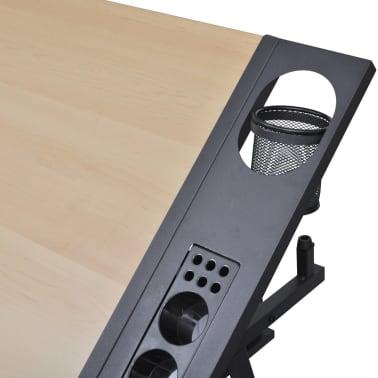 vidaXL Table à dessin à dessus inclinable avec chaise de jeux[11/14]
