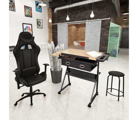 vidaXL Table à dessin à dessus inclinable avec chaise de jeux[1/14]
