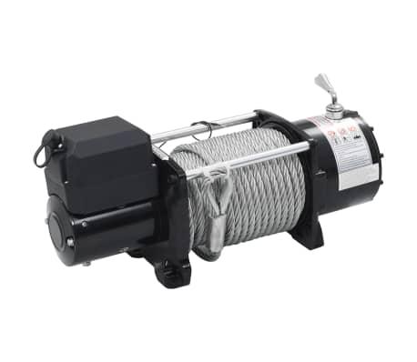 vidaXL Elektrische Seilwinde 12 V 17000 lbs 7711 kg mit Fernbedienung[2/9]