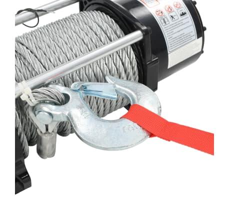 vidaXL Elektrische Seilwinde 12 V 17000 lbs 7711 kg mit Fernbedienung[3/9]