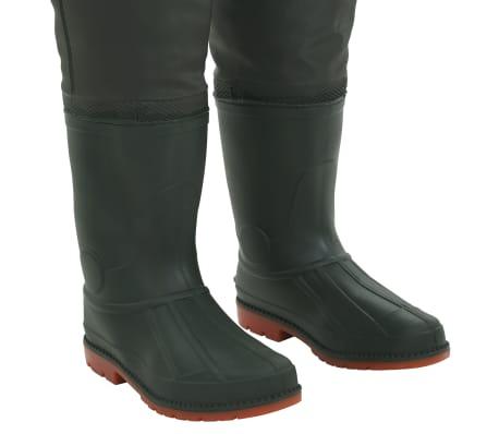 vidaXL Bridkelnės su batais, žalios spalvos, 40 dydis[6/6]