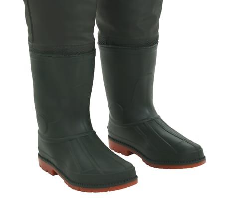 vidaXL Bridkelnės su batais, žalios spalvos, 45 dydis[6/6]