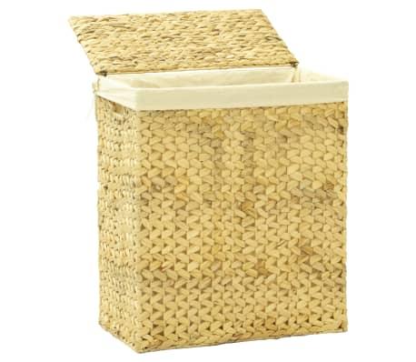 vidaXL 4 Piece Bathroom Set Water Hyacinth[3/15]