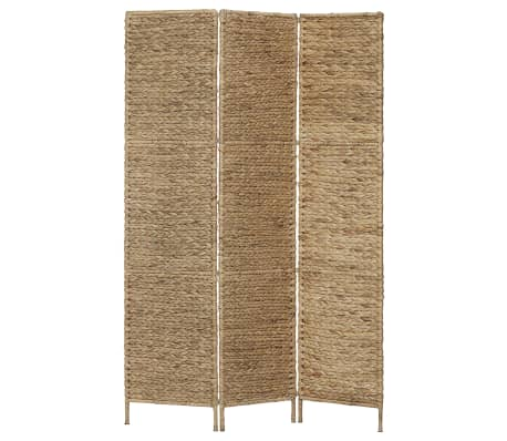 vidaXL Romdeler med 3 paneler 116x160 cm vannhyasint