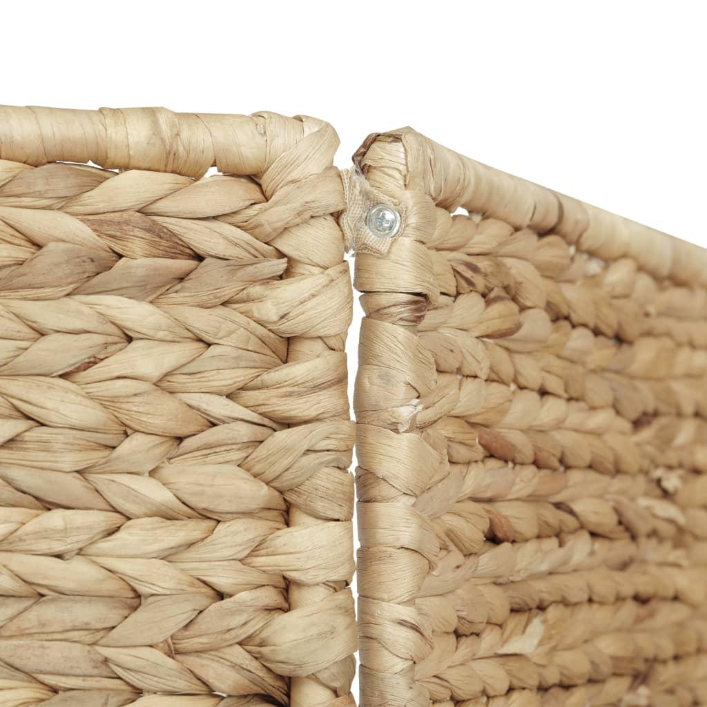vidaXL Kamerscherm met 3 panelen 116x160 cm waterhyacint
