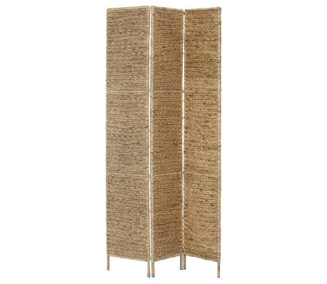 "vidaXL 3-Panel Room Divider 45.7""x63"" Water Hyacinth[3/6]"