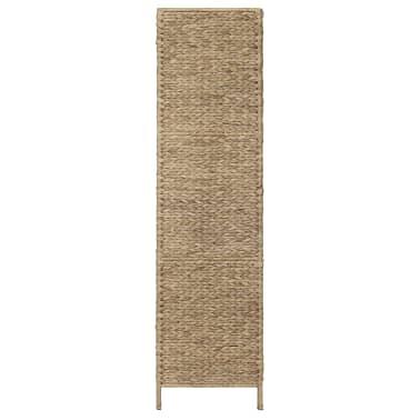 "vidaXL 3-Panel Room Divider 45.7""x63"" Water Hyacinth[4/6]"