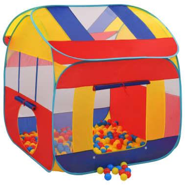 vidaXL Tienda piscina de bolas con 300 bolas XXL[1/9]