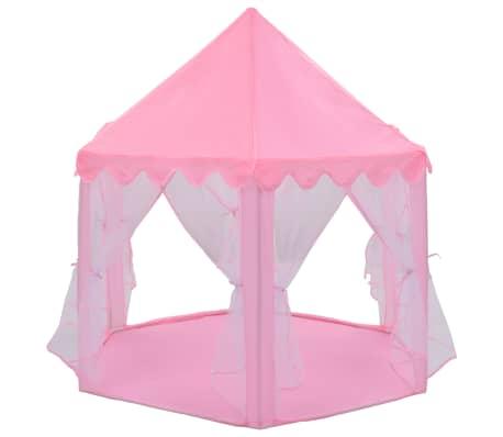 vidaXL Tienda de juegos de princesa rosa[2/8]
