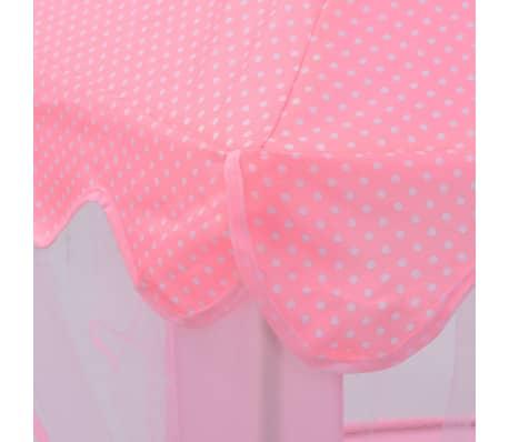 vidaXL Tente de jeu de princesse Rose[4/8]