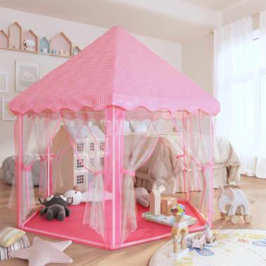 vidaXL Tienda de juegos de princesa rosa[3/8]
