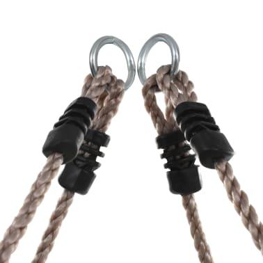 vidaXL Échelle de corde pour enfants 200 cm Bois[6/7]