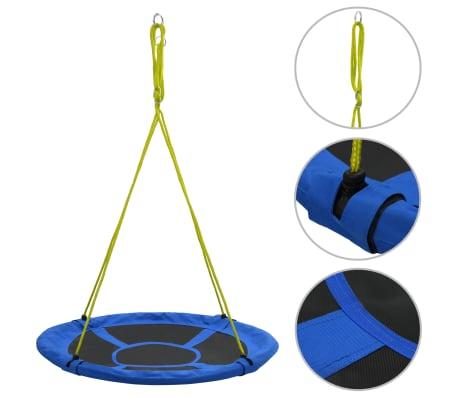 vidaXL Columpio 110 cm 100 kg azul