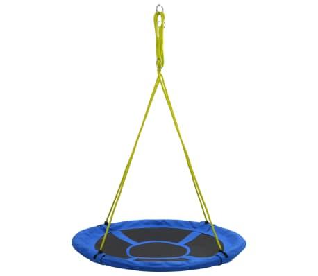 vidaXL Sūpynės, mėlynos spalvos, 110 cm, 150 kg[2/7]