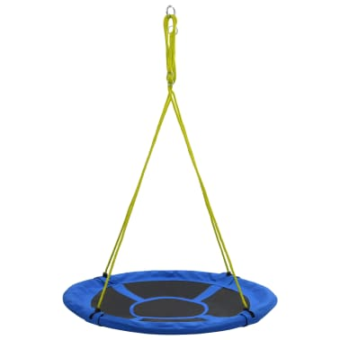 vidaXL Balançoire 110 cm 150 kg Bleu[2/7]