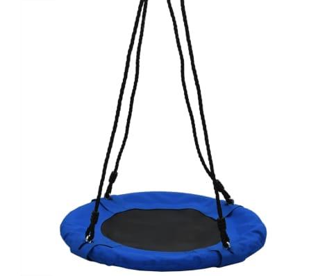 vidaXL Sūpynės, mėlynos spalvos, 60 cm, 100 kg[2/7]