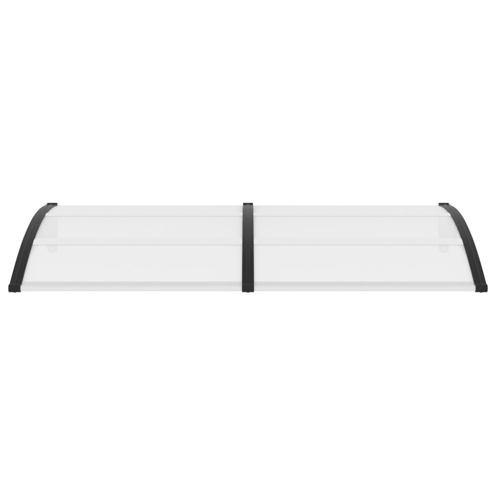 9945627 Türvordach Weiß 200x100 cm Kunststoff