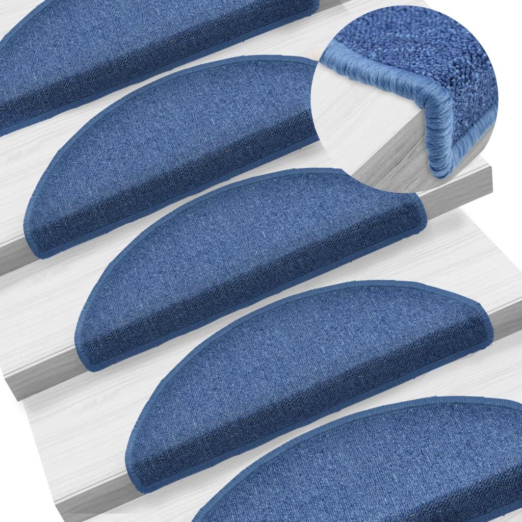 15 ks Nášlapy na schody modré 65 x 24 x 4 cm