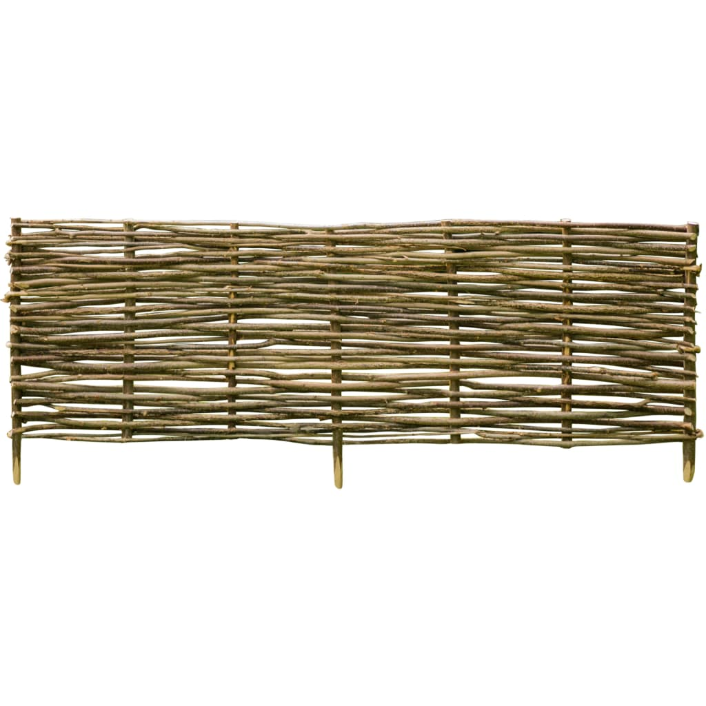 Zahradní plot lískové dřevo 150 x 40 cm