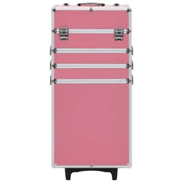 vidaXL Chariot de maquillage Aluminium Rose[2/10]