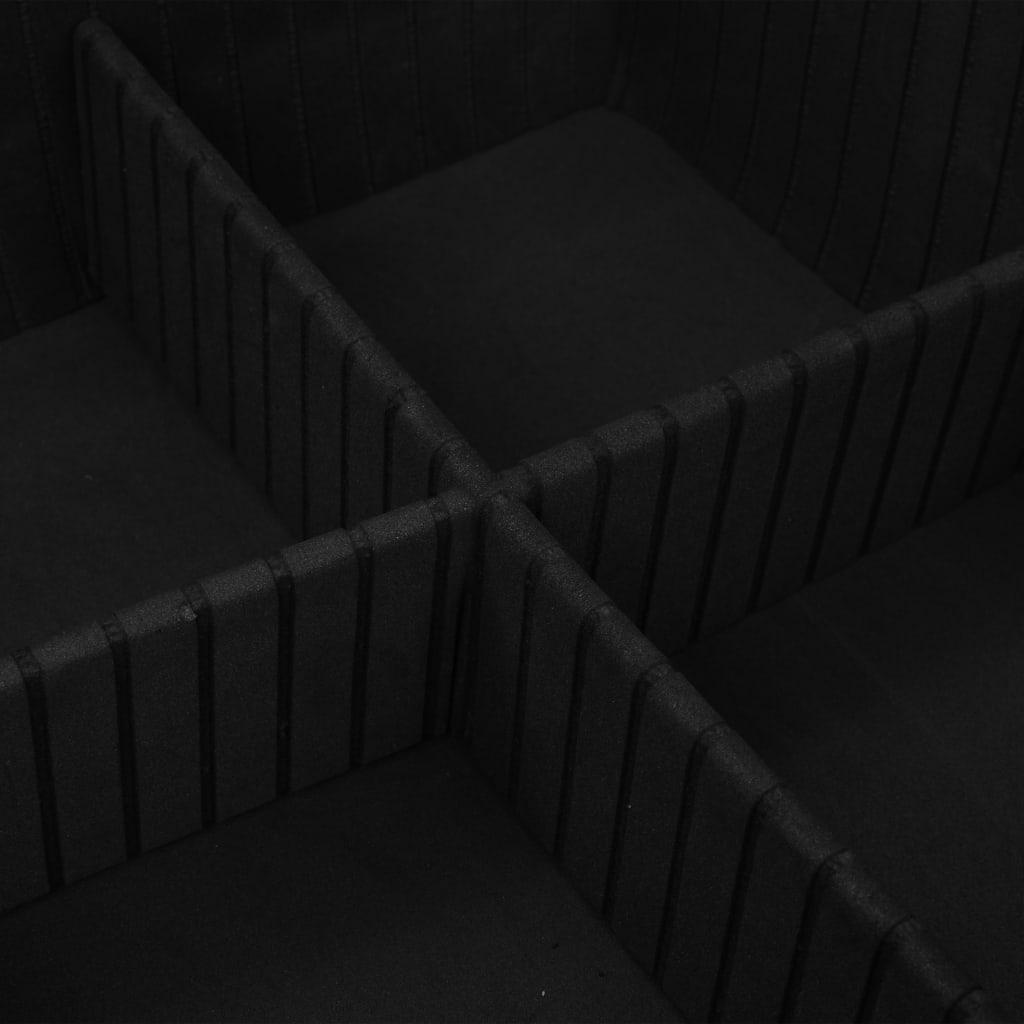 vidaXL Gereedschapskoffer 46x33x16 cm aluminium zilverkleurig