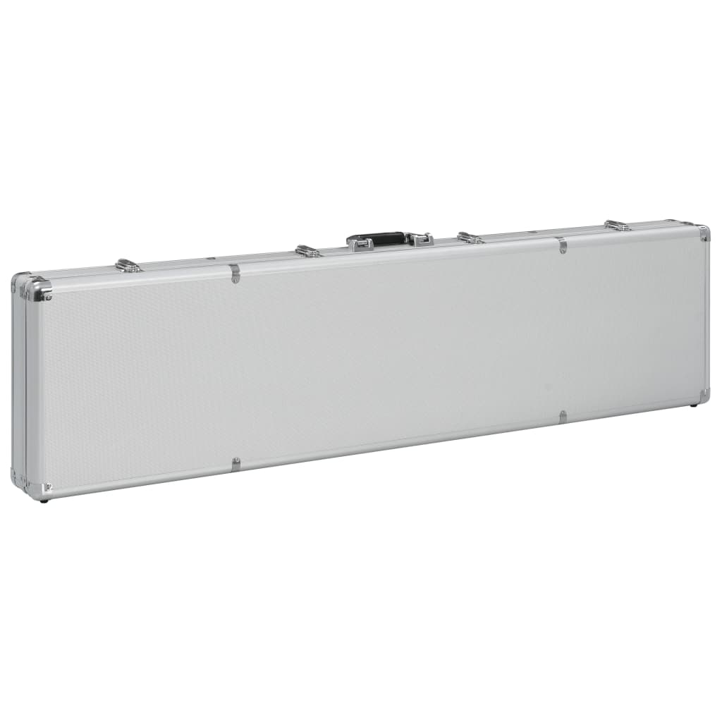 Relvakohver, hõbedane, 134 x 35 x 12 cm, alumiinium