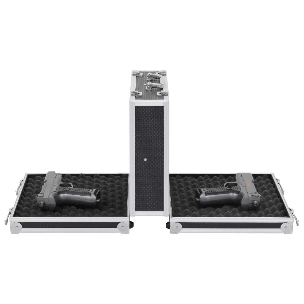Kutija za oružje aluminijska ABS crna