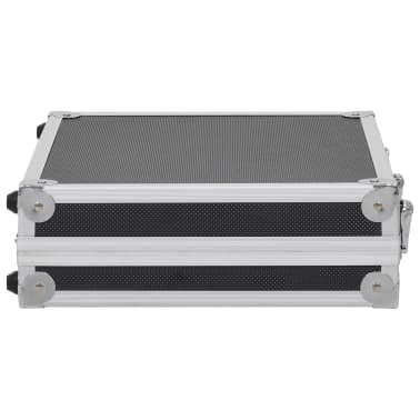 vidaXL Kovček za pištolo aluminij in ABS črn[4/7]